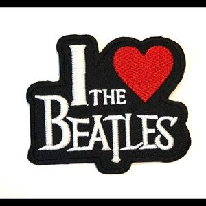 Accessories - The Beatles Patch Iron on patches band I love DIY